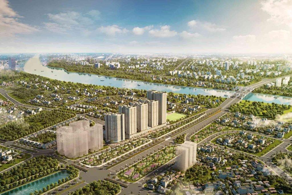 Hình 3D dự án Eurowindow River Park