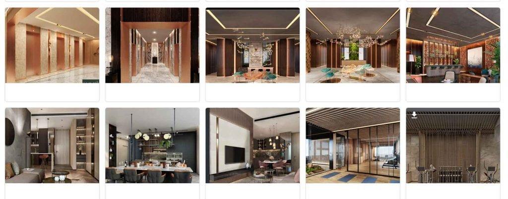 Một vài hình ảnh căn hộ mẫu Lumiere Riverside tại tòa nhà Masteri An Phú