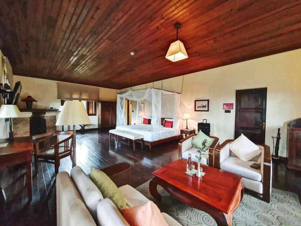 Hình chụp 1 phòng ngủ tại Ana Villas Dalat Resort & Spa