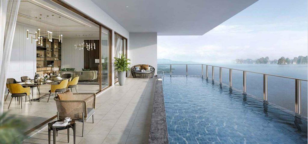 Căn hộ nghỉ dưỡng Sky Residences Hạ Long