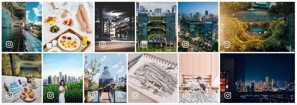 Một vài hình ảnh nói về khách sạn Parkroyal Collection Pickering Singapore