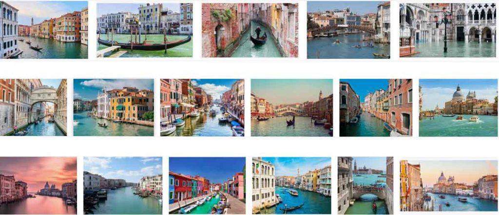 Thành phố Venice nước Ý