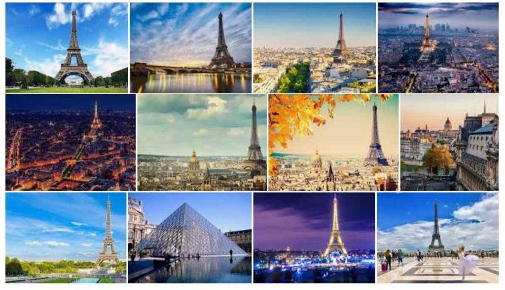 Paris là thành phố hàng đầu trong danh sách những thành phố lãng mạn nhất thế giới