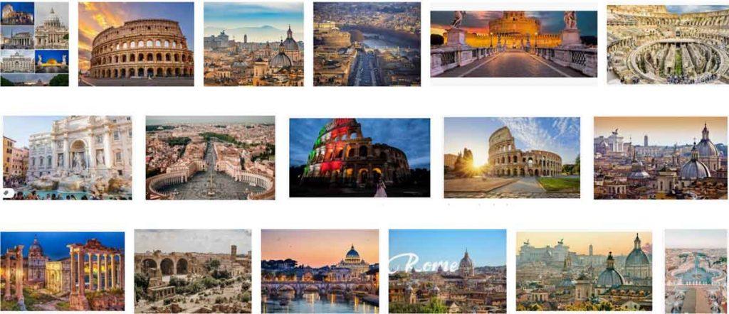 Rome nằm trong TOP những thành phố lãng mạn nhất thế giới