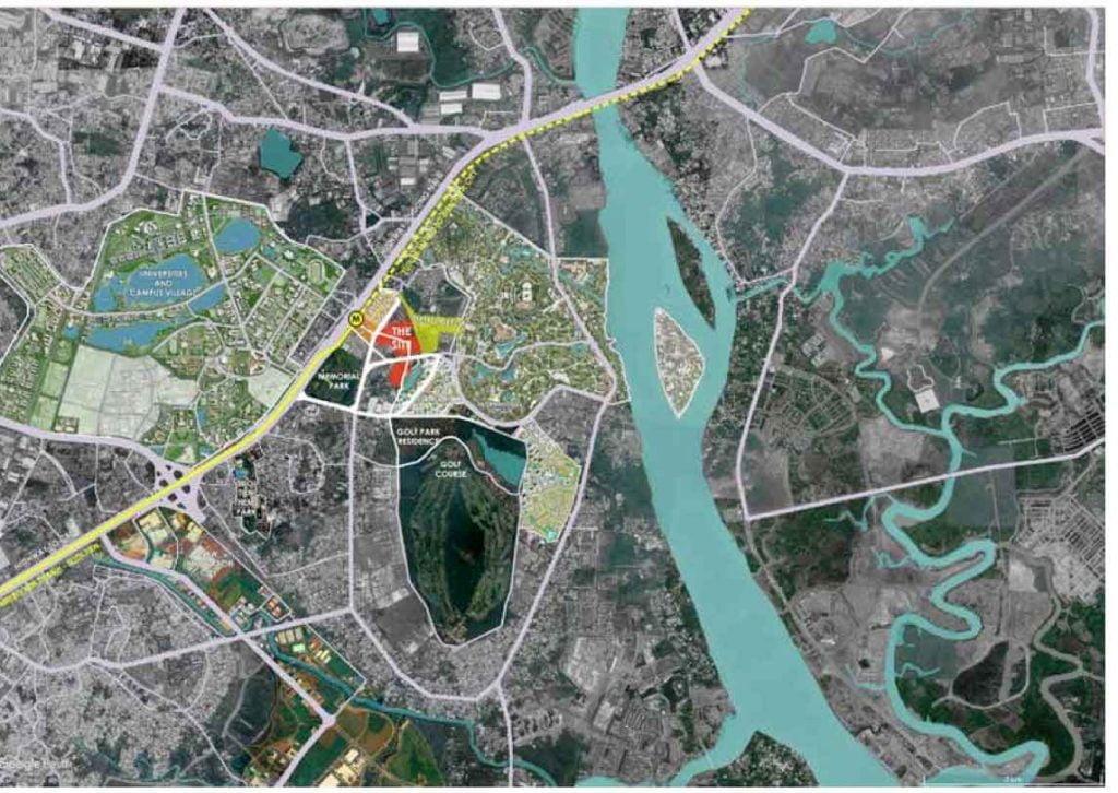 Bản đồ thông tin quy hoạch dự án The 9 Stellars tại Q9