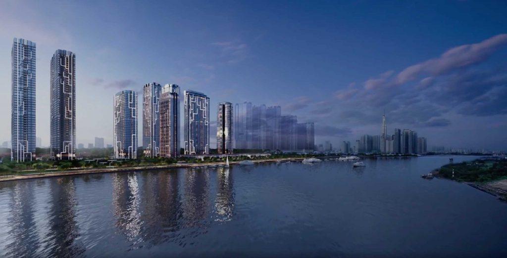 Cho thuê căn hộ Grand Marina Saigon nhà trống và đầy đủ nội thất