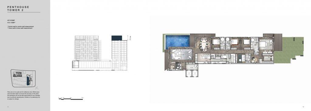 Penthouse Empire City Thủ Thiêm Tower 2 giai đoạn COVE
