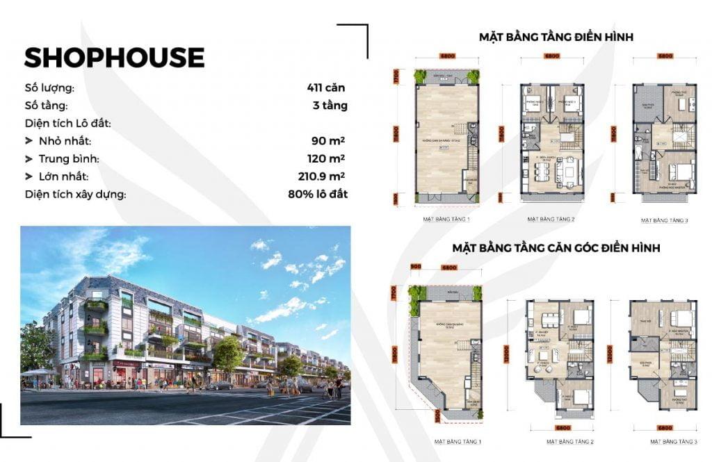 Shophouse FLC Legacy Kon Tum