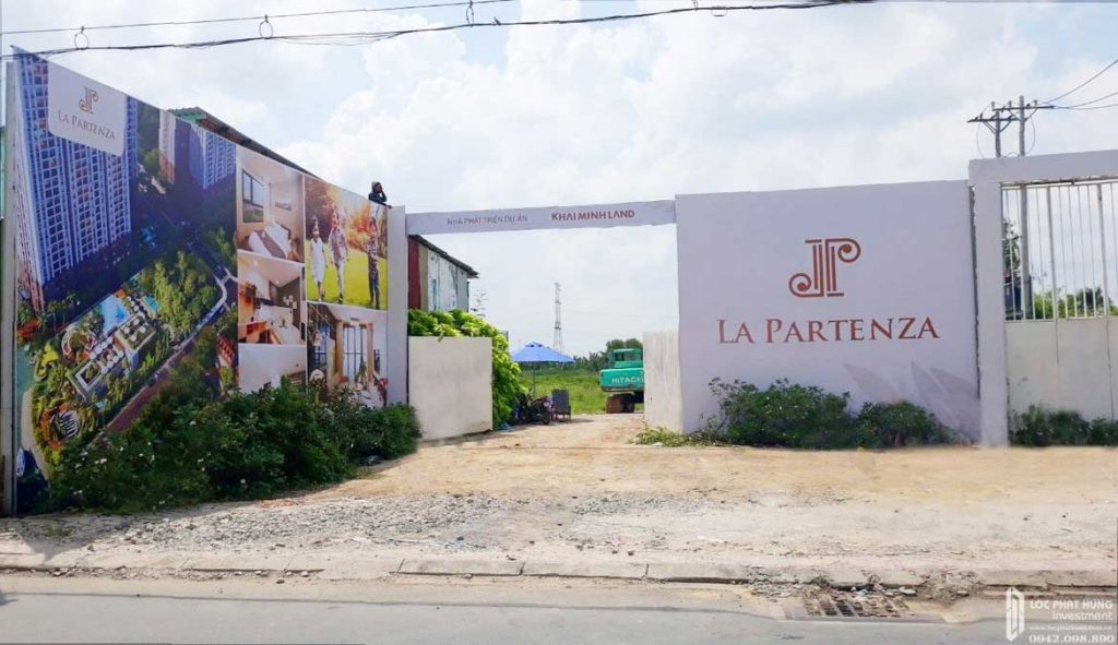 Tiến độ xây dựng dự án La Partenza Nhà Bè