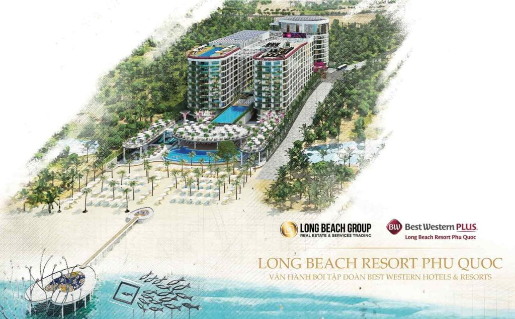 Hình phối cảnh dự án Best Western Plus Long Beach Resort Phú Quốc