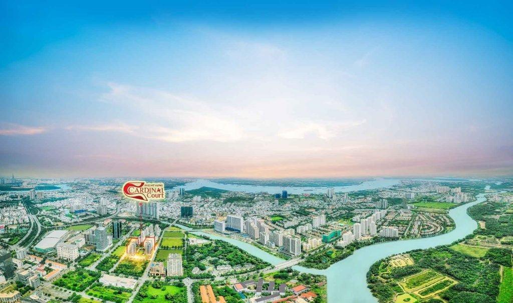 Hình chụp thực tế dự án tại khu Nam Sài Gòn