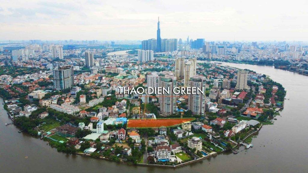 Quy hoạch tổng thể khu căn hộ Thảo Điền Green