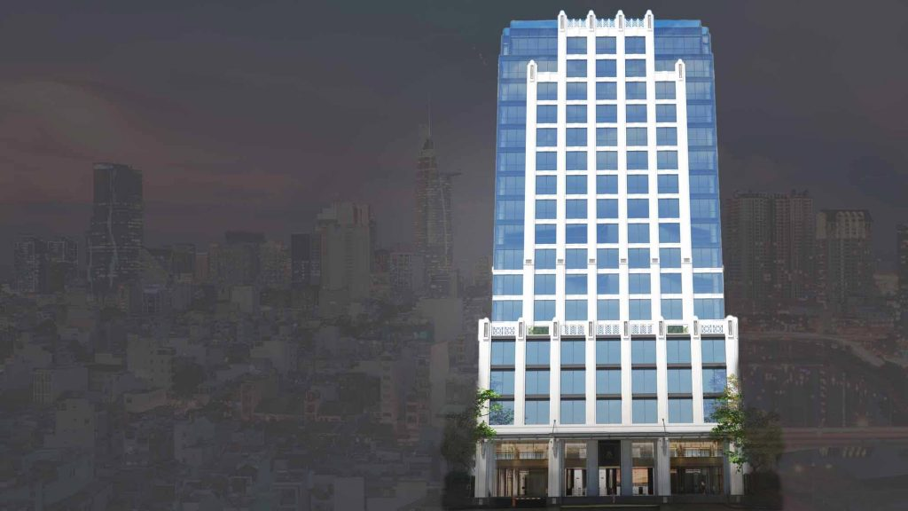 Toà nhà Pearl 5 Tower cho thuê từ tầng 3 đến tầng 17