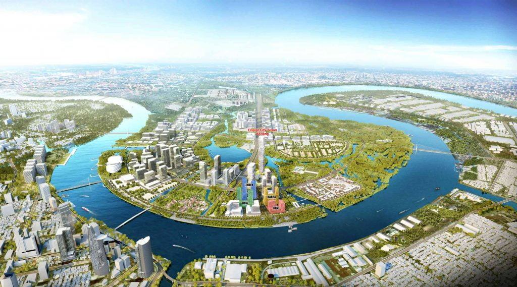 Toàn cảnh dự án Empire City Thủ Thiêm và khu đô thị Thủ Thiêm Quận 2