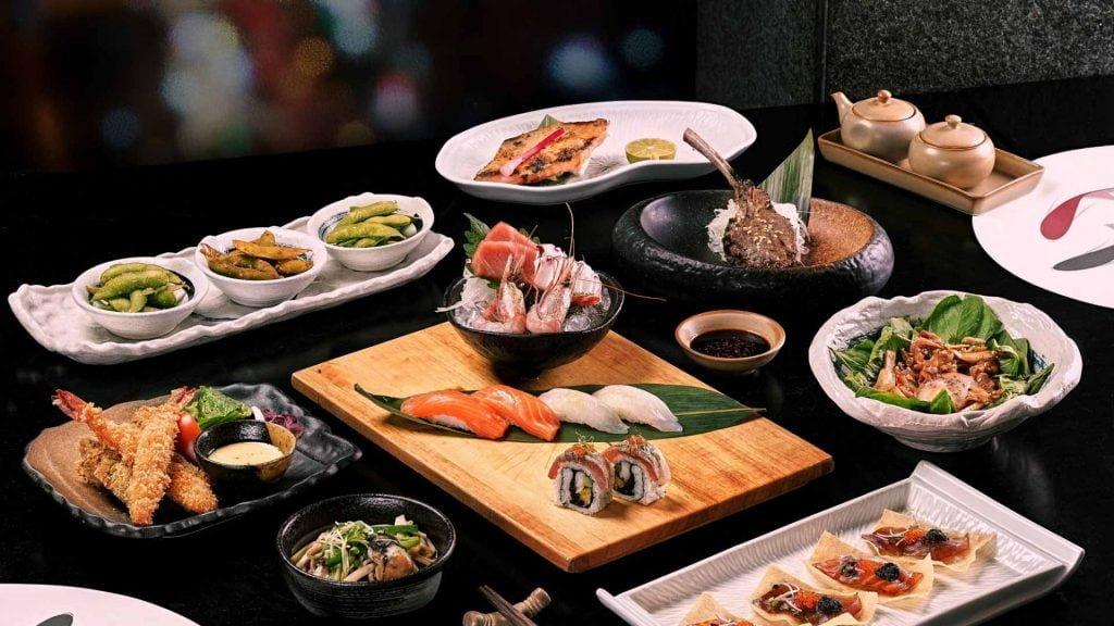 Món ăn tại nhà hàng Nhật Bản Sorae