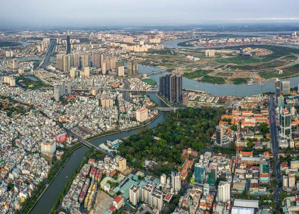 Ngôi nhà 5 sao bên sông Sài Gòn