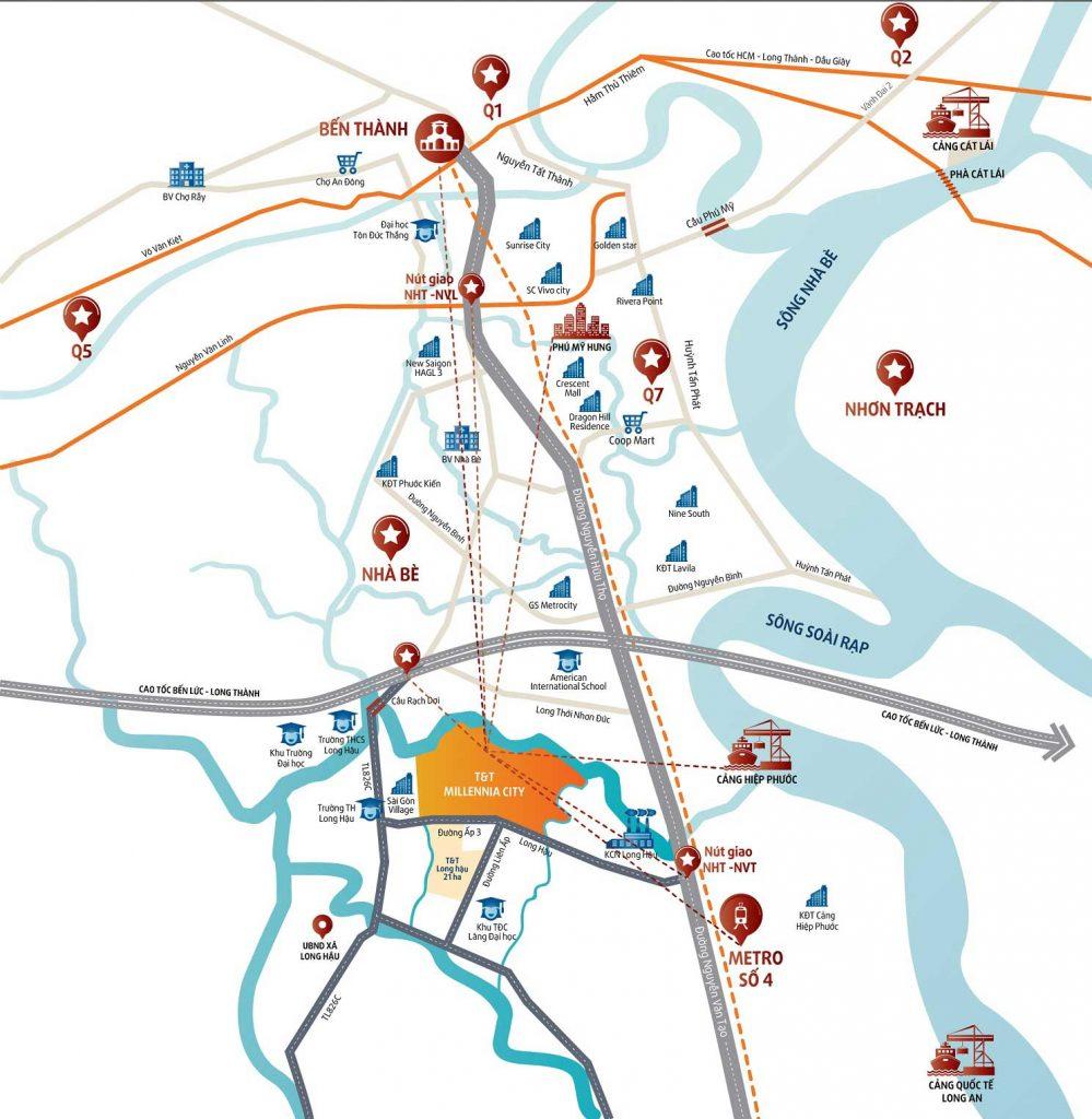 Bản đồ vị trí dự án