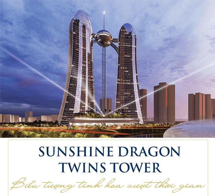 Sunshine Dragon Twins Tower