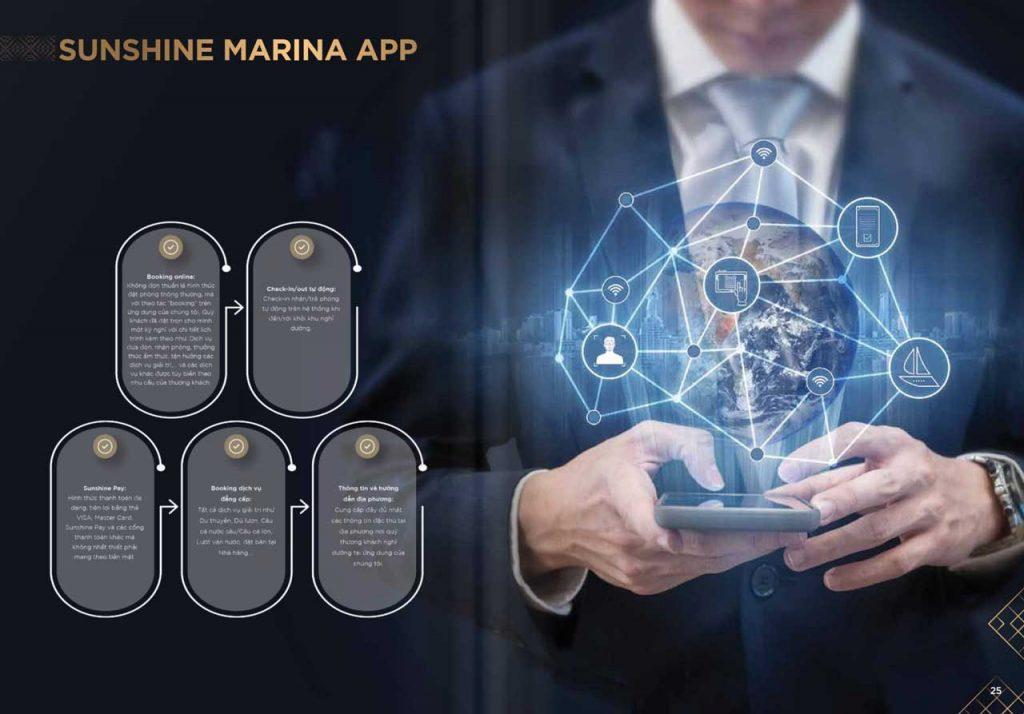 Ứng dụng Sunshine Marina App do Sunshine Group phát triển